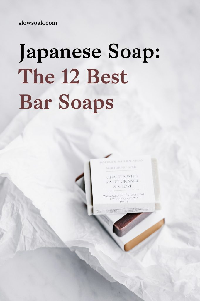 Japanese Soap: 12 Best Bar Soaps - Visit www.slowsoak.com to discover bathing culture from around the world. japanese soap, best japanese soap, best soap, best soap for women, best bar soap, bar soaps, popular japanese soap, cow beauty soap, hinoki soap, charcoal soap, persimmon soap, horse oil soap, japan soap, japanese soap design, japanese soap packaging, cow soap japan, cow beauty soap japan