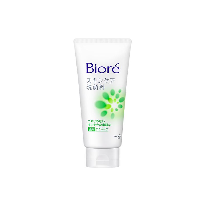 Biore Skin Care Face Wash Medicated Acne Care