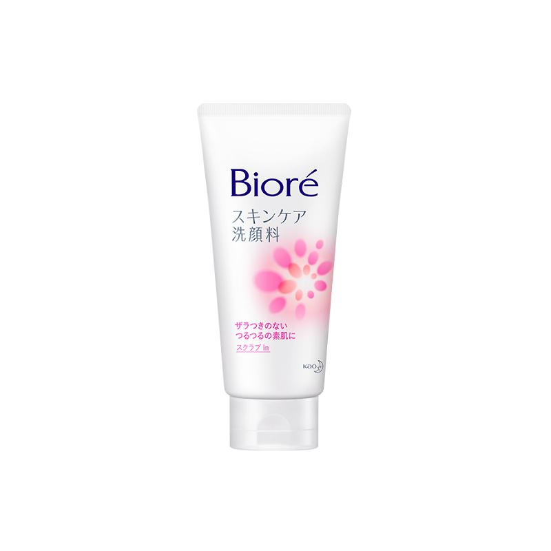 Biore Skin Care Face Wash Scrub