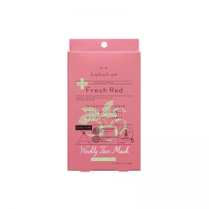 LuLuLun Plus Fresh Red Face Mask
