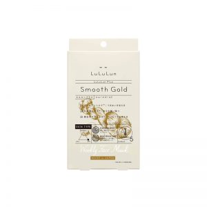 LuLuLun Plus Smooth Gold Face Mask
