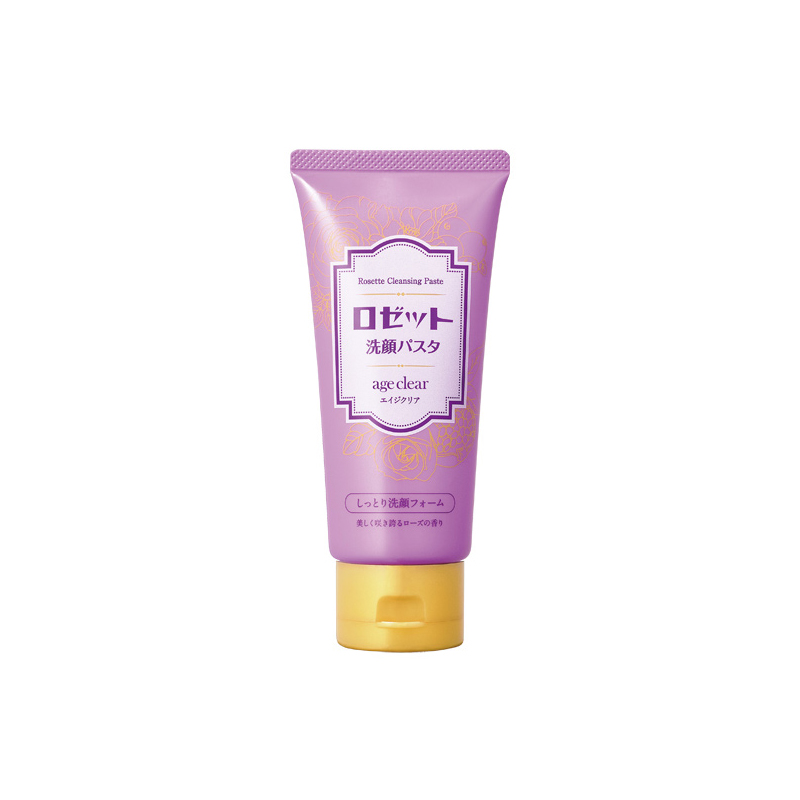 Rosette Cleansing Paste Age Clear Moisturizing Face Wash Foam